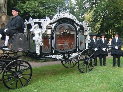 Bestattungswagen von 1880