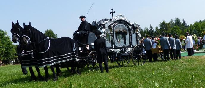 Original Bestattungskutsche von 1880
